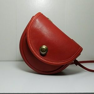 Vintage Red Coach * Bonus*